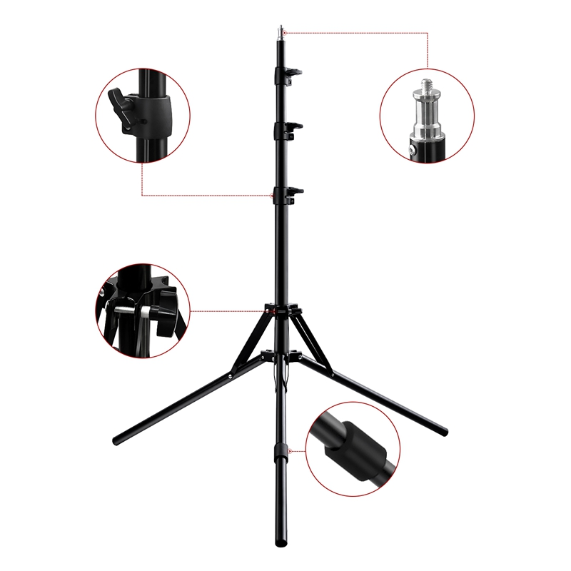 FOSOTO FC-480 3200-5500k Colorful 480 pcs Dimmable Led Photographic Lighting  96W Ring Light Lamp with Mirror for Camera, Phone, photo Studio