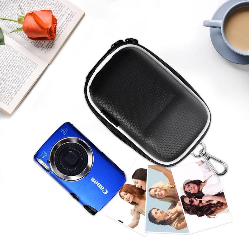 FOSOTO FT-260 DSLR camera bag case waterproof portable DV bag for Canon Powershot SX730 SX740 SX710 SX700 HS G7X G9X Mark II 2 SX150