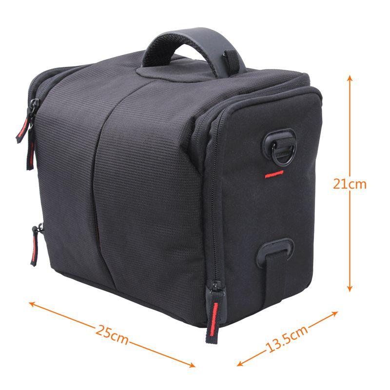 FOSOTO 650DL Camera Case Bag Compatible for Nikon D3300 D3400 D5300 D5500 D5600 D7200 D7100 D500 D90 D60 D750 D810 D610,Canon EOS Rebel T5i T6 T7i XT SL1 T3i T4 70D 80D 5D Mark 6D 7D,Sony a99II SLR Camera