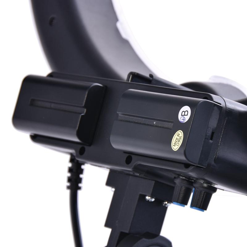 FOSOTO NP-F550 7.4V 2200mAh Battery For Led Light, Sony Camera