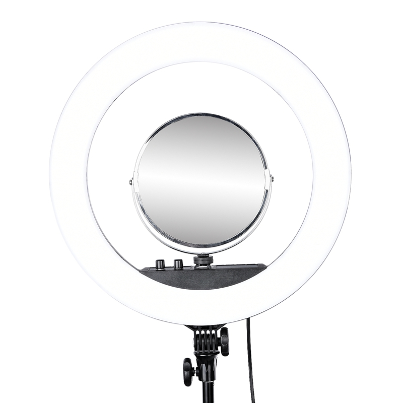 FOSOTO Ring light lamp mirror Ring Light Accessories For Rl-18 And all the ring lights that can be used with hot shoes