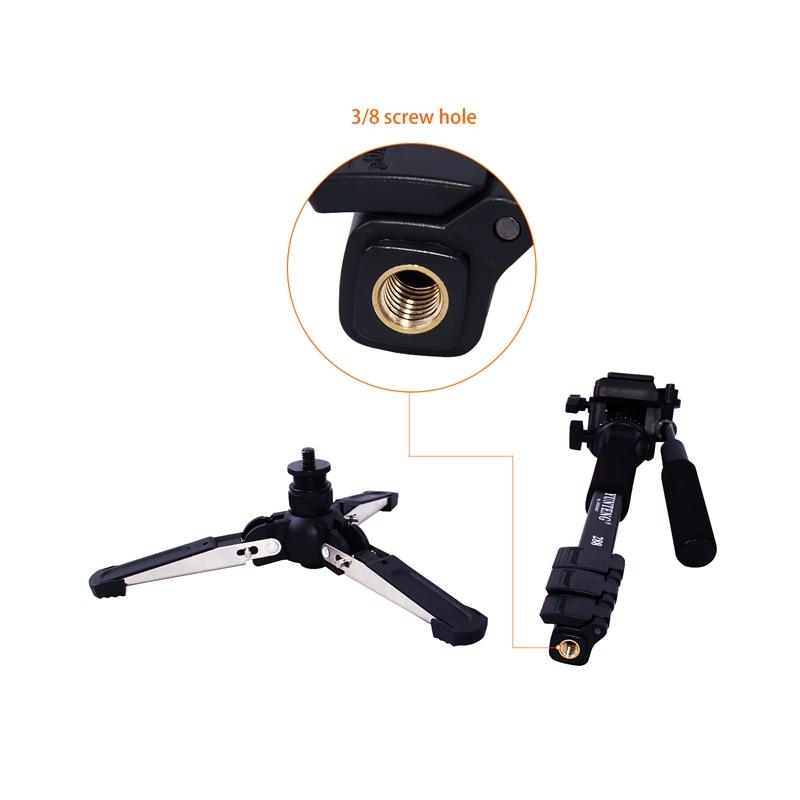 FOSOTO VCT-288 professional mini tripod monopod stand