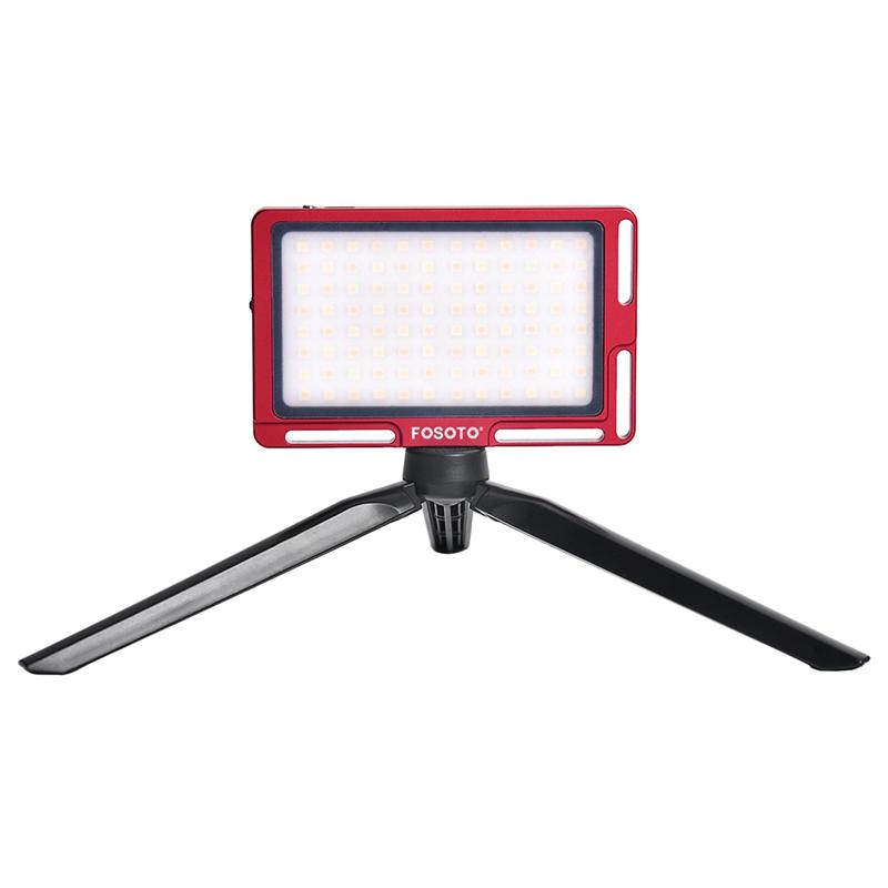FOSOTO FT-03 96 LED lamp beads Mini LED Video Camera Light pane Fill Lamp for DSLR Camera