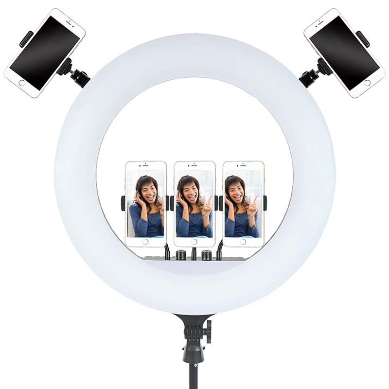 FOSOTO FT-54 21inch 60W LED Ring Light Lamp With Remote Control