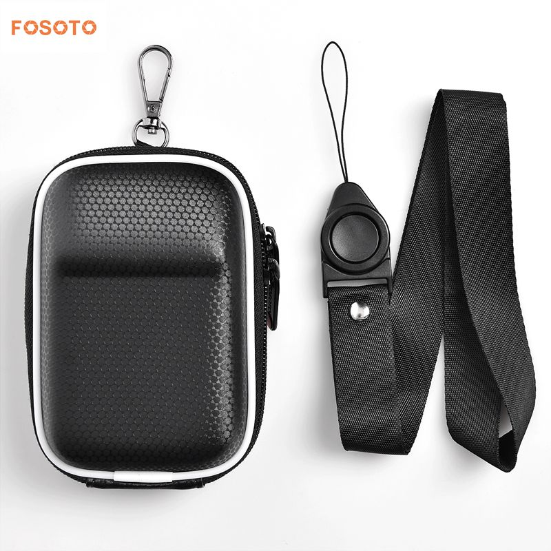 FOSOTO FT-260 DSLR camera bag case waterproof portable DV bag for Canon Powershot SX730 SX740 SX710 SX700 HS G7X G9X Mark II 2 SX150