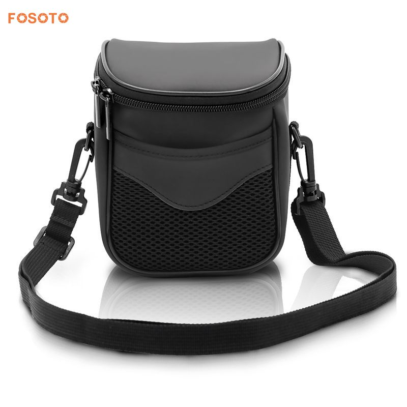 FOSOTO 99 Waterproof and Light Weight Black dslr camera bag Super Zoom Case for Canon SX410 SX420 SX50 Nikon P510 L810 L310
