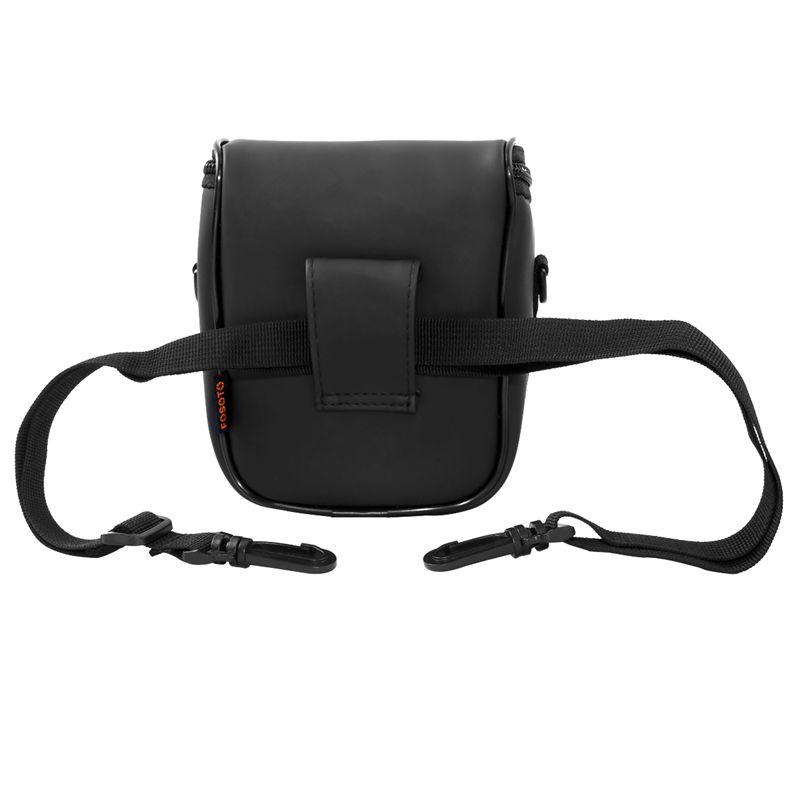 FOSOTO 99 Waterproof and Light Weight Black dslr camera bag Super Zoom Case for Canon SX410 SX420 SX50 Nikon P510 L810 L310