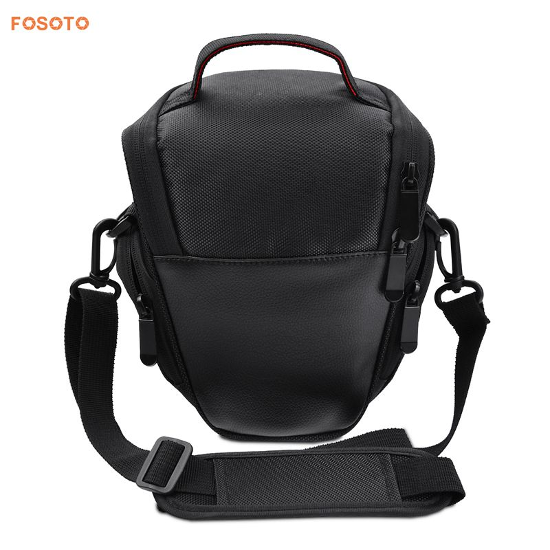 FOSOTO A350 Waterproof and Light Weight Black dslr camera bag Super Zoom Case for Canon SX410 SX420 SX50 Nikon P510 L810 L310