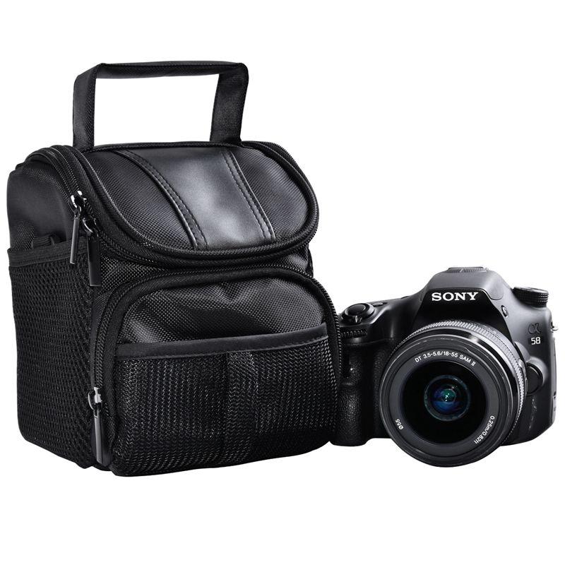 FOSOTO R1 DSLR Camera Bag Case For Nikon D3400 D5500 D5300 D5200 D5100 D5000 D3200 for Canon EOS 750D 1100D 1200D 700D 600D 550D