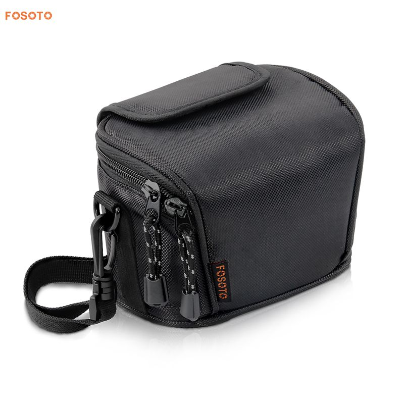 FOSOTO D700 Camera Case Bag Compatible for Nikon Coolpix L330 L340 L320 L310 L820 L810 L620,Canon Powershot SX420 SX510 HS G1, Nikon J5 J3 S1 V2 V3,Panasonic Lumix LZ20 LZ30,Sony Video Camera