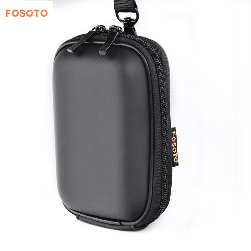 FOSOTO WI Snug Fit Black Camera Case Compatible for Canon PowerShot ELPH 180 190 360 HS SX620 A2300 IXUS 285 180 G9X Mark II,Sony Cyber-Shot DSC-W830 W810 W800 WX220 HX80 HX90,Nikon Coolpix A10 S7000 W100
