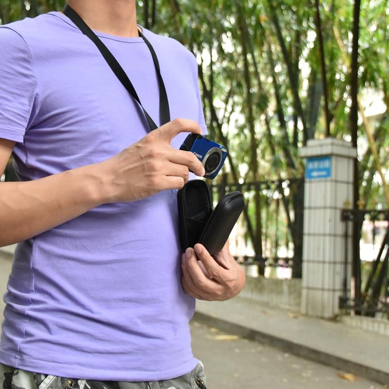 Olympus. Fuji vhbw Objektiv Deckel 43mm Innengriff Snap on Blau f/ür Kamera Canon Minolta Fujifilm Nikon Kodak JVC Casio Leica