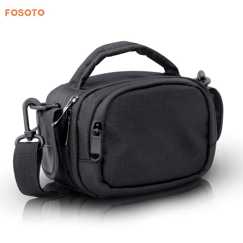 FOSOTO BHV20 Digital DSLR Camera Bag Shoulder Bags Case For Canon HDV-Z20 Video Nikon corresponding SAMSUNG HMX-F90WP Sony HDR-GW77E