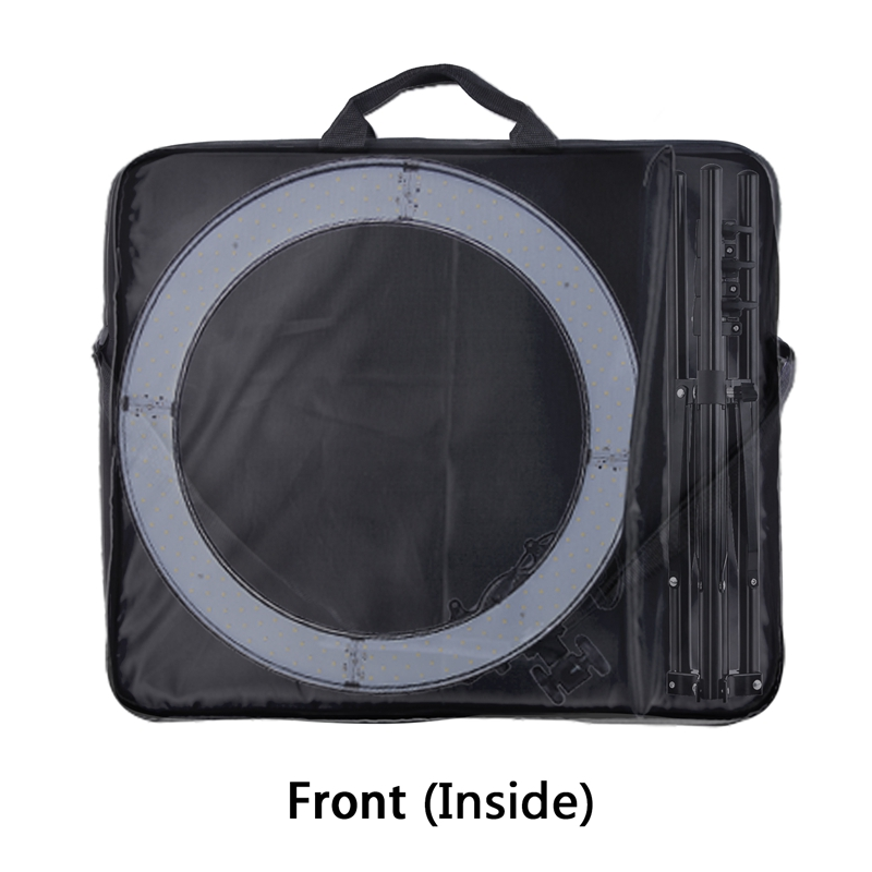 FOSOTO High Quality Conjoined bag Orange Carry Case For RL-18 Ring Light Lamp And Tripod Stand&All accessories within 18