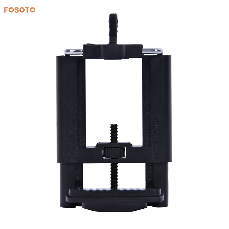 FOSOTO Universal Cell Phone Tripod Adjustable Phone Holder Mount Tripod Mount Fits iPhone Samsung and All Phones Rotates Vertical and Horizontal