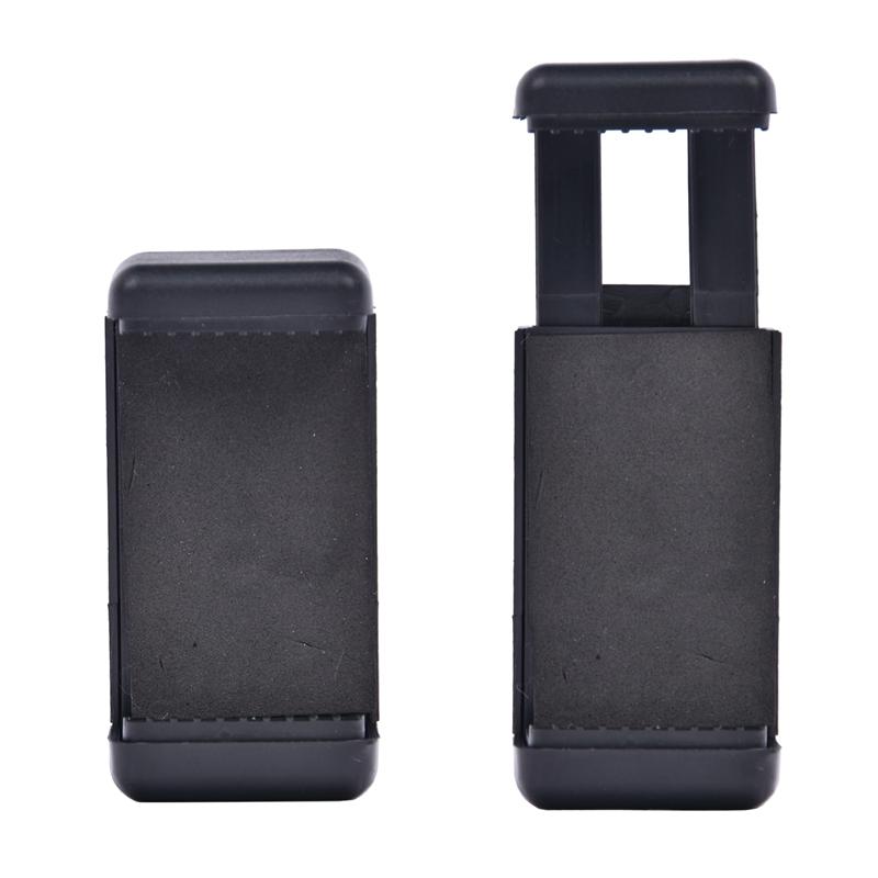 FOSOTO holder L Adjustable Phone Holder Smartphone Clip For Smartphone Camera Tripod Stand Mount Adapter Monopod