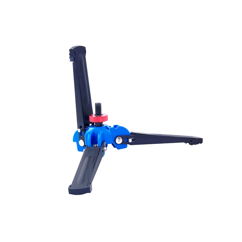 FOSOTO M-1 Hydraulic Universal Three Feet Support Stand for Monopod with 3/8